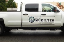 Cars Vans & Trucks Door Logo Kit For the City Of Mukilteo