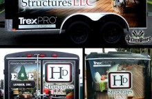 Box Trucks, Buses & Trailers Full Trailer Wrap for HD Structures