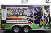 Box Trucks, Buses & Trailers Lake Stevens Youth Football Concessions Trailer