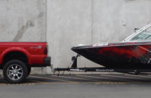 Boats Mastercraft Full Wrap Red