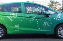 Cars Vans & Trucks Zip Car - Green